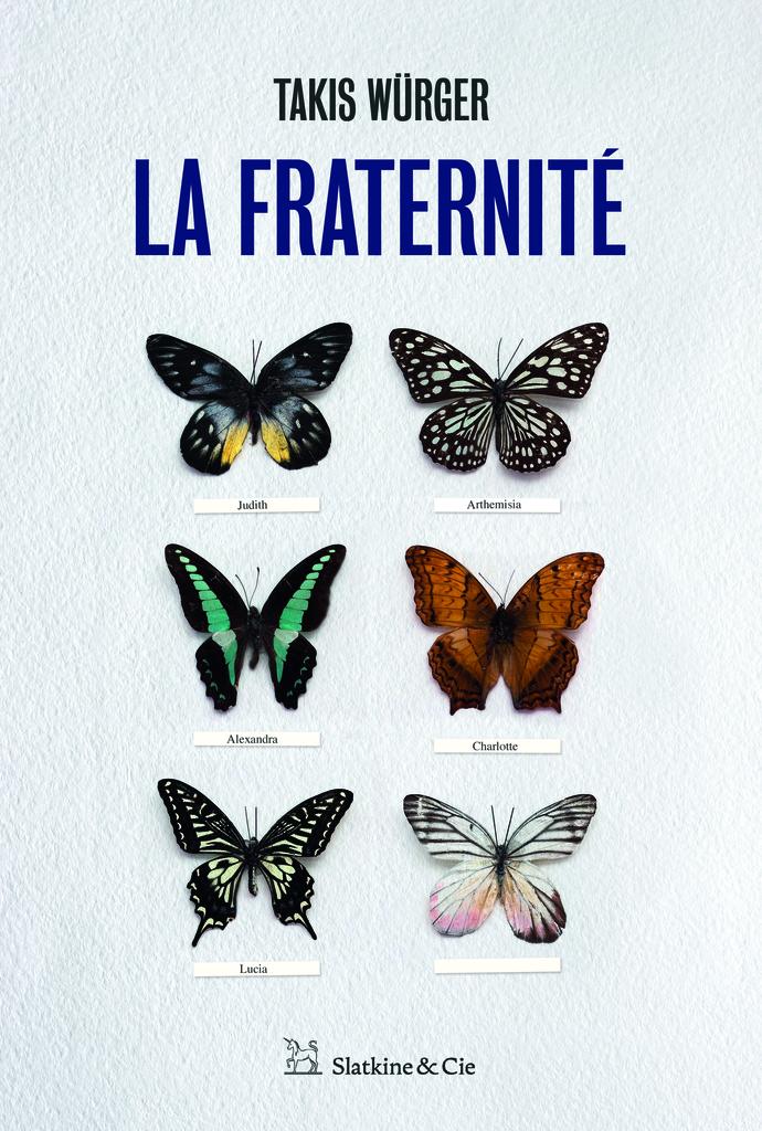 couverture de La Fraternité, un roman de Takis Würger édité en France par les éditions Slatkine & Cie